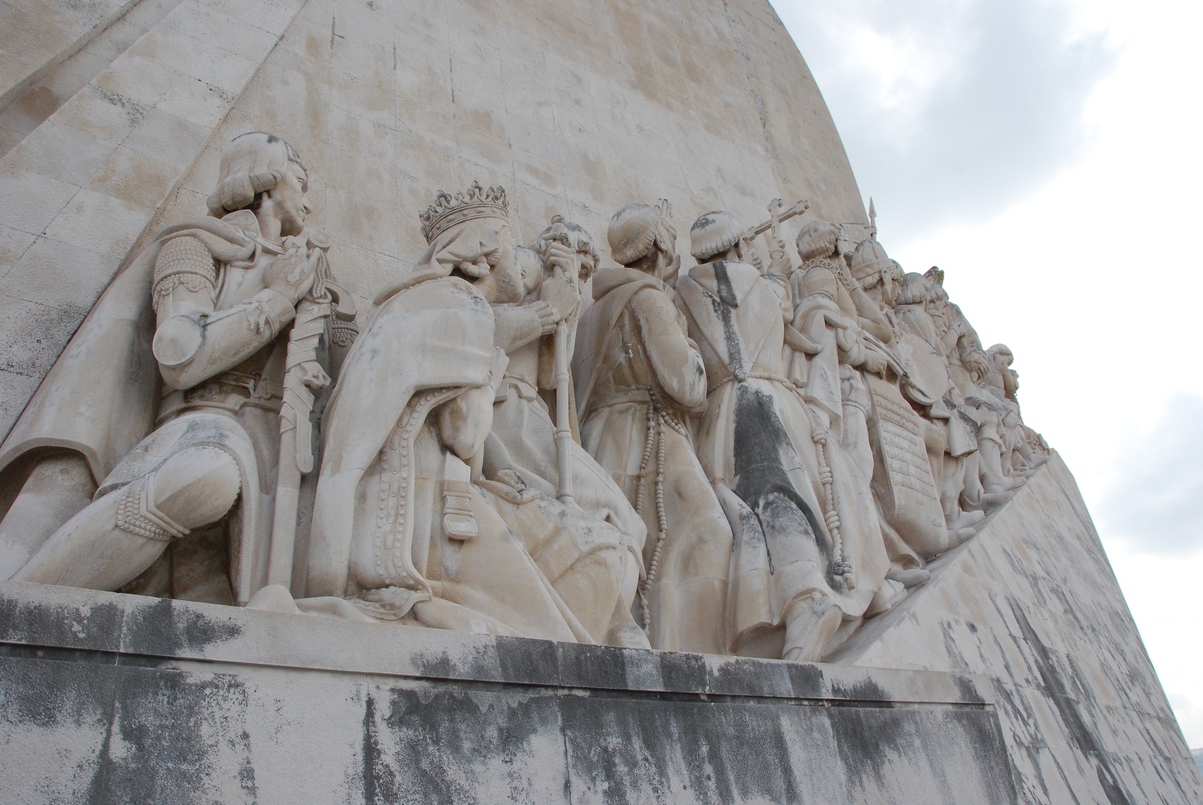 Norman Heart Plaza Lisbon Monument Of Discoveries